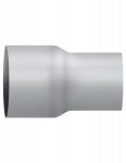 "Aluminized Coupler, 4""  Diameter, UNIVERSAL  Application, 4"" OD X 3"" OD, 8"" Length"