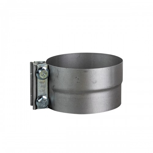 """Galvanized preformed clamp 5"""" with separator"""