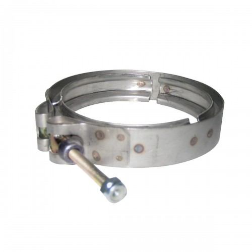 """Stainless Steel Clamp Turbo, 4 1/2"""", GMC Application"""