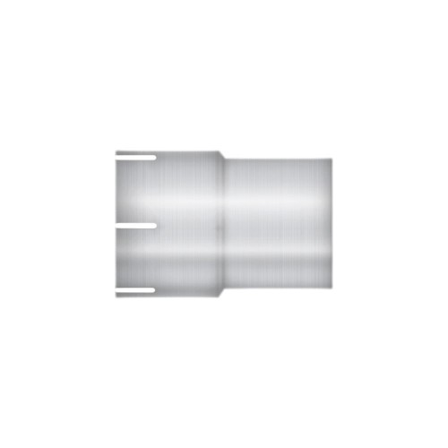 "Aluminized Coupler, 5"" Diameter, Universal Application, 5"" ID X 5"" OD, 6"" Length"