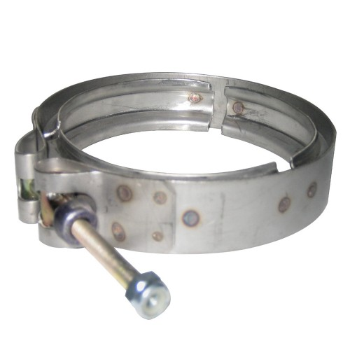 """Stainless Steel Clamp Turbo 5"""""""