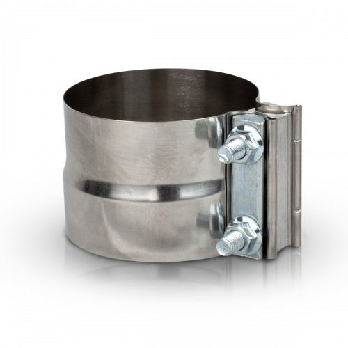 """Stainless Steel Clamp, 5"""" Diameter, Universal Application, With Spacer"""