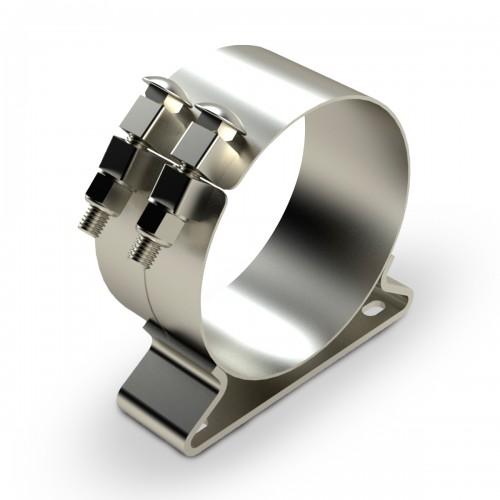"Stainless Steel Chrome Clamp, 8"" diameter, Universal"