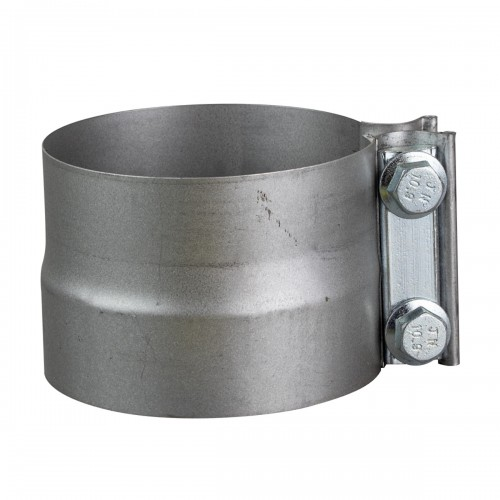 """Galvanized preformed clamp 4"""" with separator"""