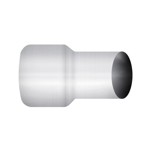 "Aluminized Coupler, 5""  Diameter, UNIVERSAL  Application, 5"" OD X 4"" OD, 8"" Length"