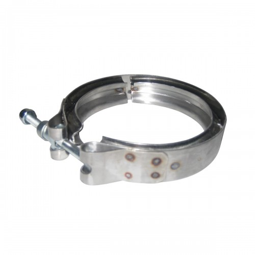 "Stainless Steel Clamp Turbo, 4"", GMC Application"